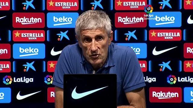 """Setién, tras ganar al Espanyol: """"No hemos hecho un gran partido"""""""
