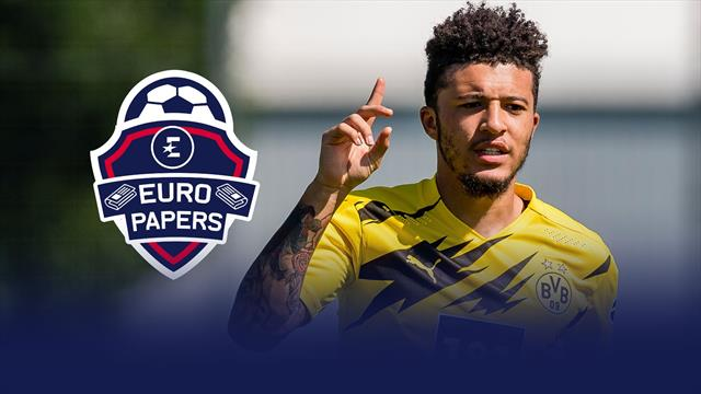 Man United given Jadon Sancho boost – Euro Papers