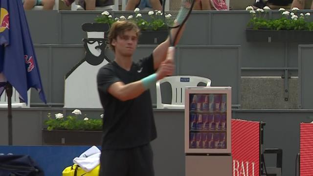 Thiem's 7 match highlights: Andrey Rublev wins in tie break against Casper Ruud