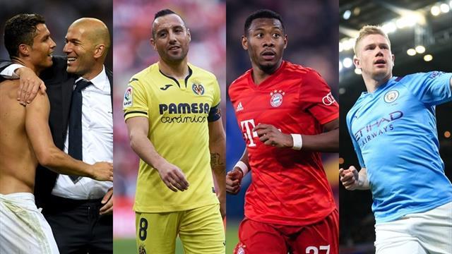 Cristiano, Zidane, Cazorla, Alaba y De Bruyne, los nombres del día