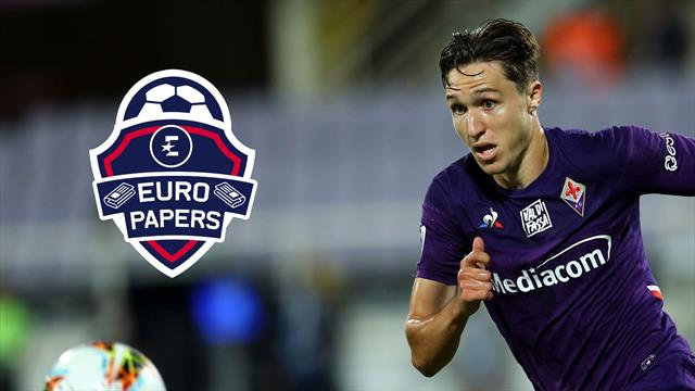 Surprise Prem team rival Manchester United for Federico Chiesa - Euro Papers