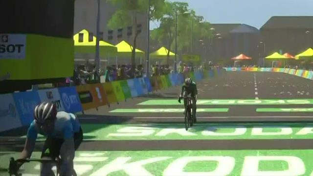 Freddy Ovett takes Stage 4 win at Virtual Tour de France