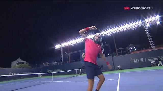Matteo Berrettini edges Stefanos Tsitsipas to win Ultimate Tennis Showdown