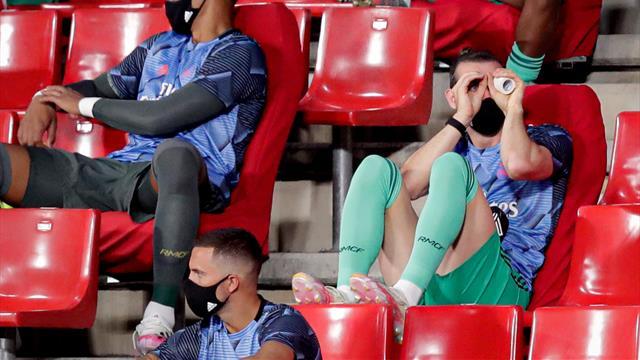 """El tremendo enfado de Zidane con un periodista por Bale: """"Joder, vaya pregunta"""""""