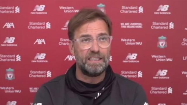Jurgen Klopp: Liverpool have been lucky with Mohamed Salah