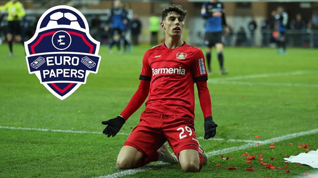 Advantage Chelsea as cash-strapped Real Madrid drop out of race to sign Kai Havertz – Euro Papers