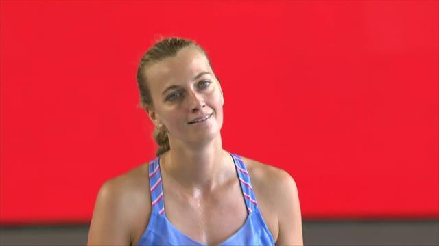 Bett1 Aces Highlights: Petra Kvitova battles past Andrea Petkovic to reach final