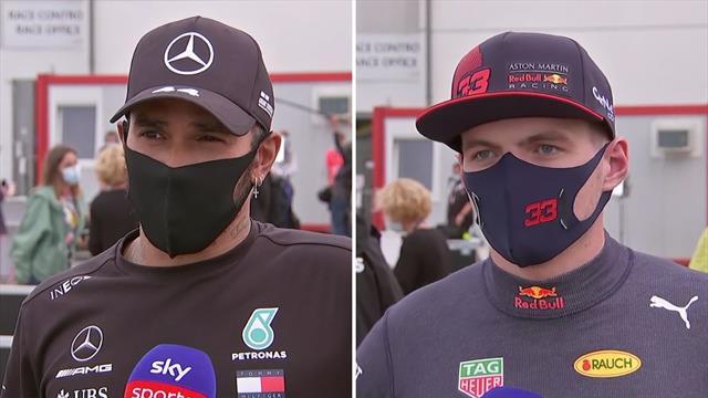 Lewis Hamilton on tyre management, Max Verstappen praises mechanics