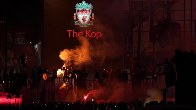 Los fans del Liverpool desoyen a su club y desafían al coronavirus en la celebración de la Premier