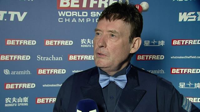 'I was all at sea' - Jimmy White 'delighted' with comeback win against Michael Georgiou