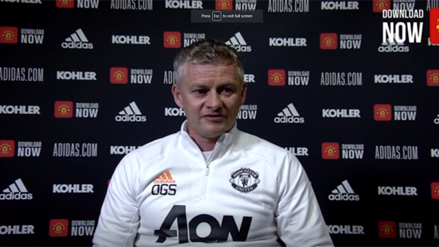Solskjaer: We've put ourselves in a good position to get back into the Champions League