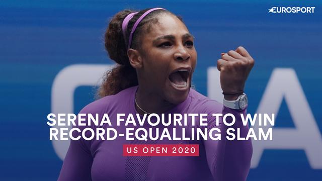 US Open: Serena Williams favourite to win record-equalling Slam