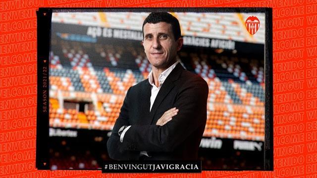 El Valencia hace oficial la llegada de Javi Gracia a su banquillo