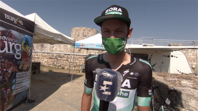 'I just went full gas!' - Felix Grossschartner analyses stage win at Vuelta a Burgos