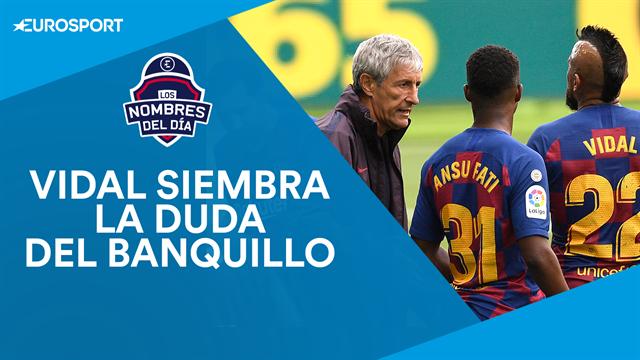 Vidal, Benzema, Luis Suárez, Tiago e Immobile, los nombres del día