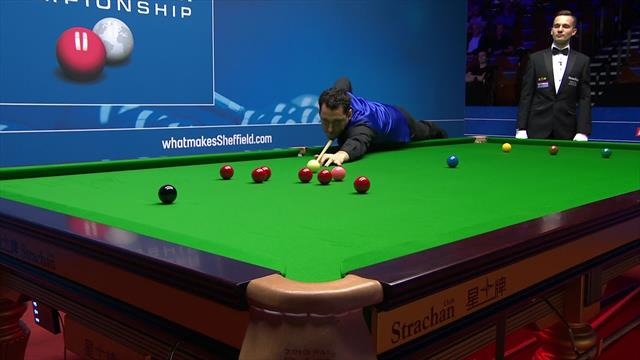Tom Ford blows 147 chance at World Snooker Championship