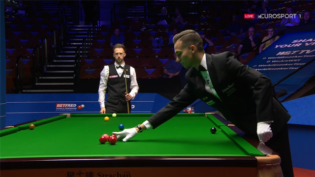 'It's nonsense!' - Judd Trump ball-placement incident prompts frustration