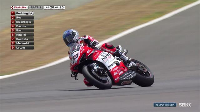 Scott Redding secures maiden World Superbike win at Jerez