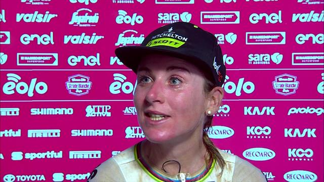 Van Vleuten didn't come to Strade Bianche expecting to win