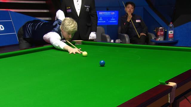 Neil Robertson opens Crucible campaign with 'magnificent' 140