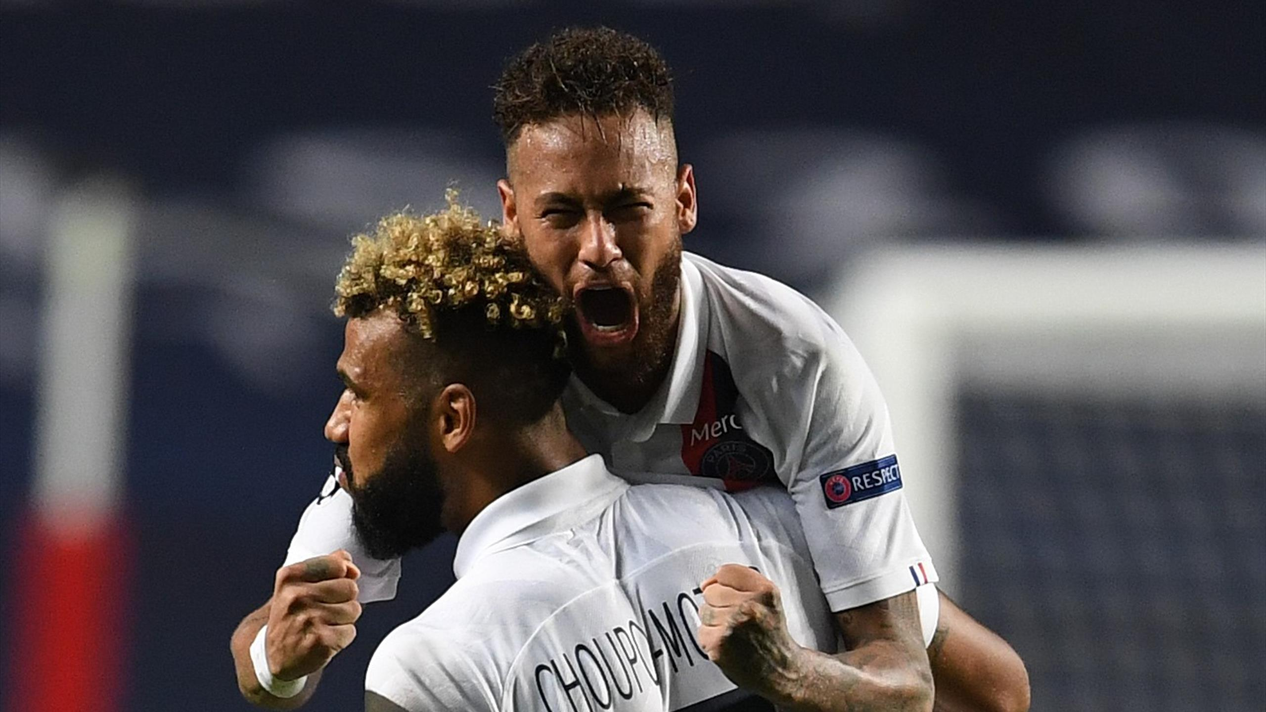 Substitute Choupo-Moting the hero as PSG score twice in injury-time to break Atalanta hearts - Eurosport