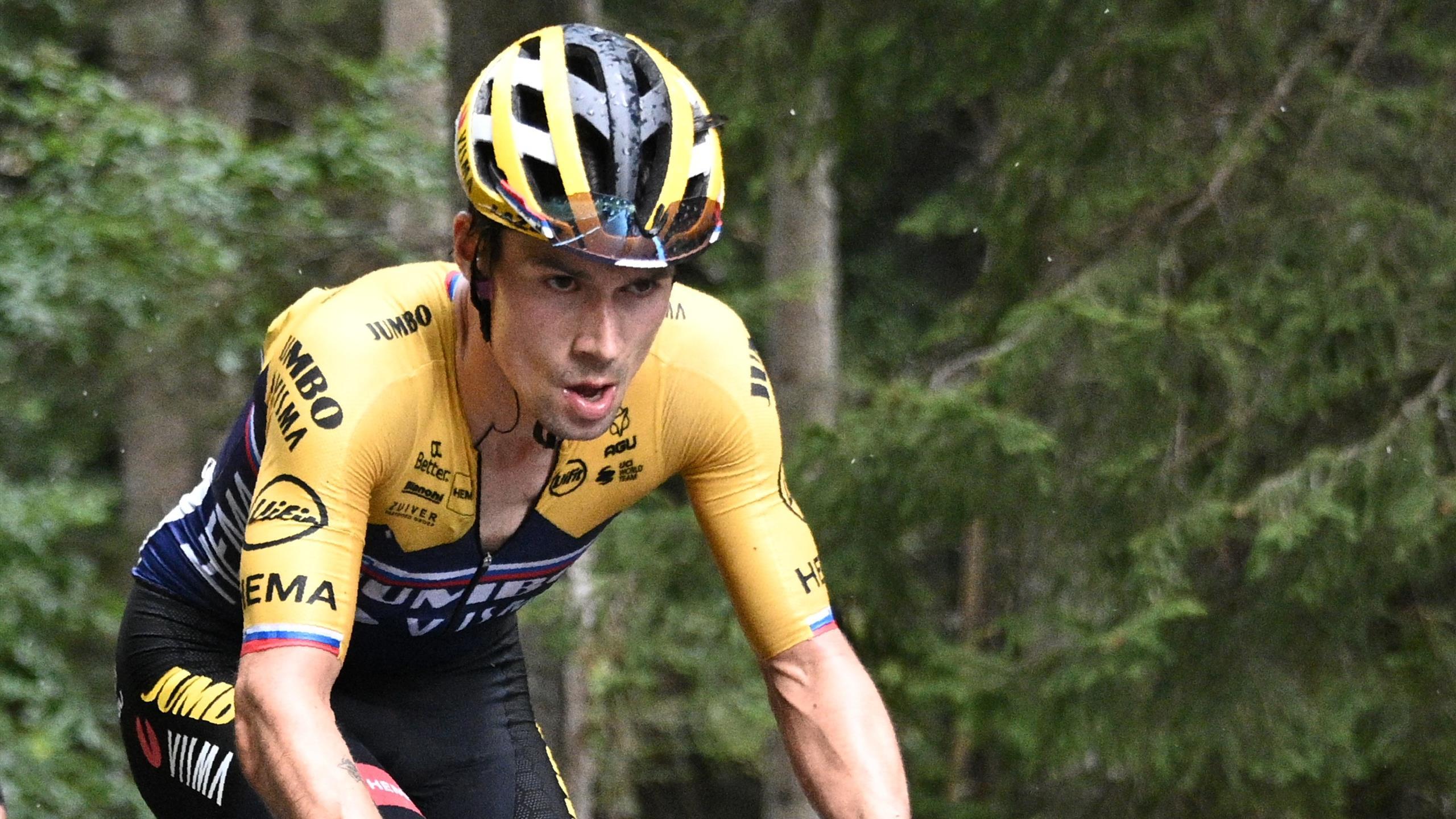 Tour De France 2020 Primoz Roglic Doubts Over Injury Issue Eurosport