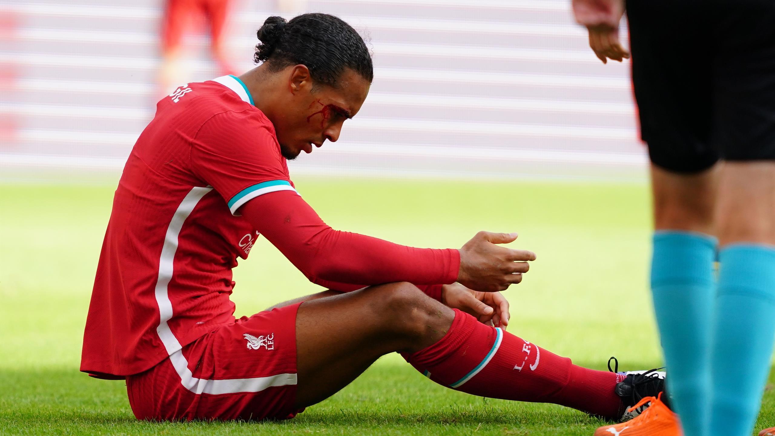 Virgil van Dijk injury ...