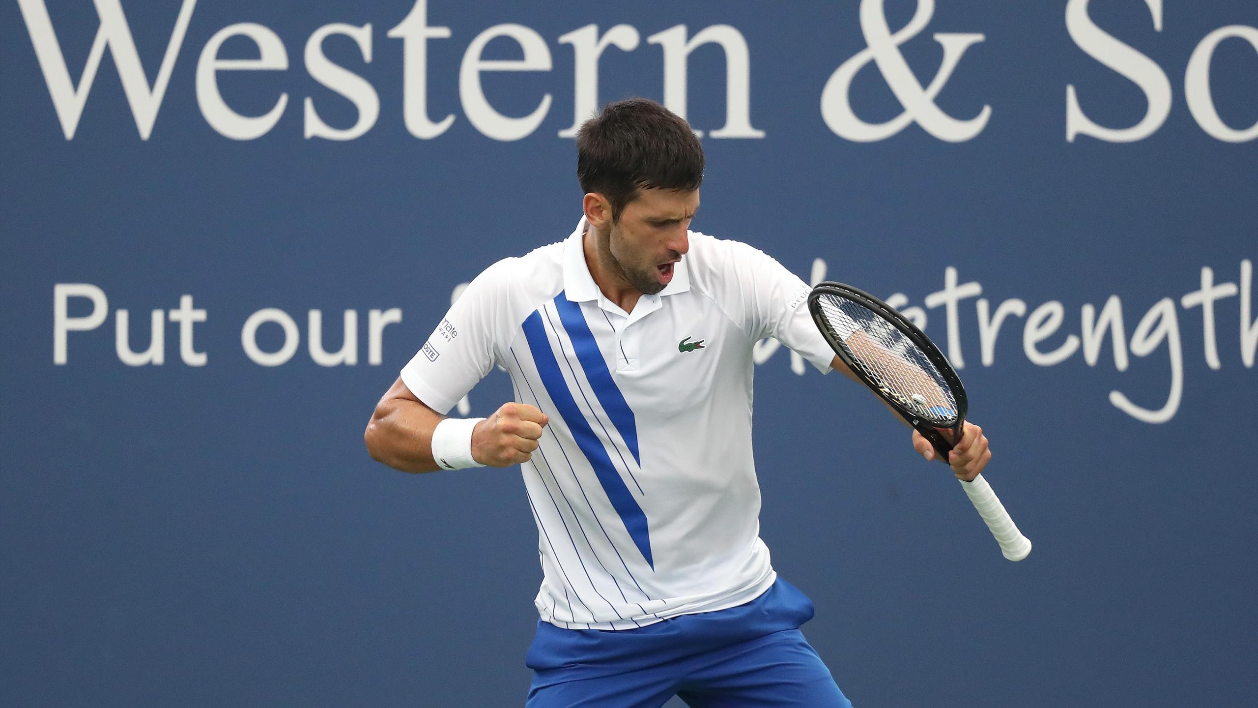 Novak Djokovic Wins Western Southern Open After Three Sets Victory Over Milos Raonic Eurosport
