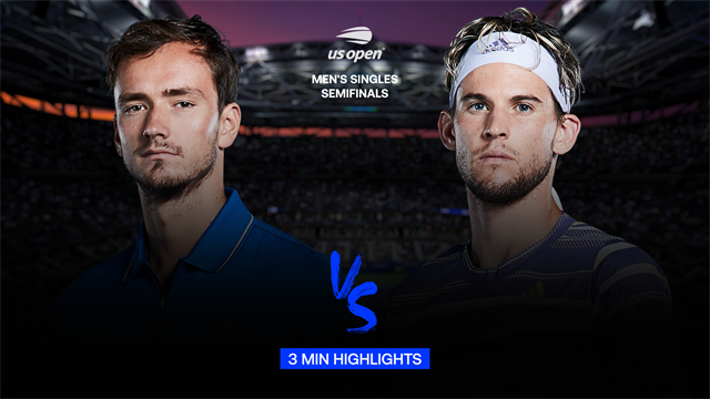 VIDEO - Highlights | Daniil Medvedev - Dominic Thiem - US ...