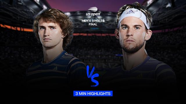 Highlights: Thiem vinder sin første Grand Slam efter forrygende comeback mod Zverev