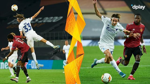 Kavalkade af Falks bedste aktioner fra kvartfinalen mod United