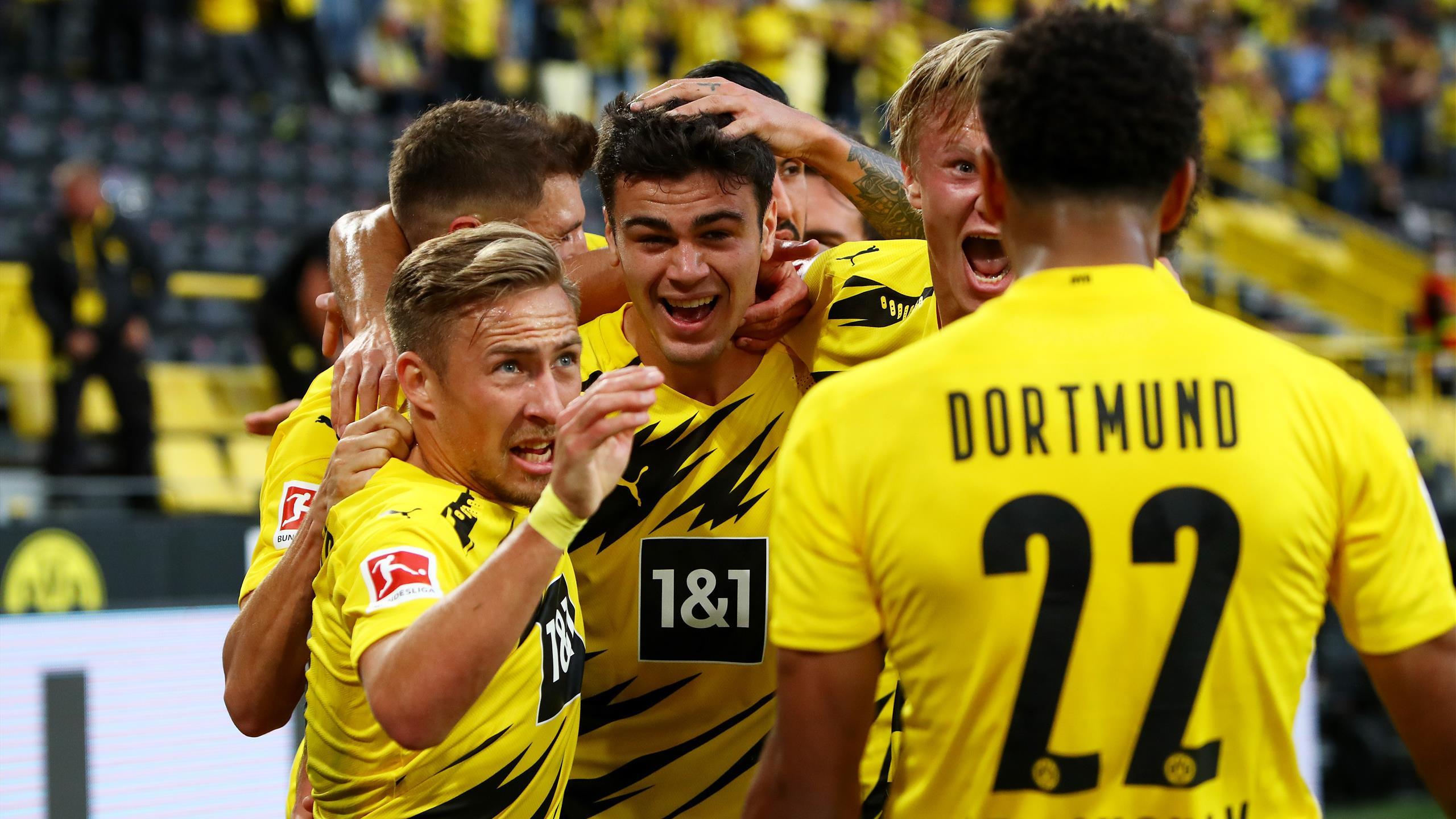 Erling Haaland Brace Crowns Borussia Dortmund Win Over Borussia Monchengladbach Eurosport
