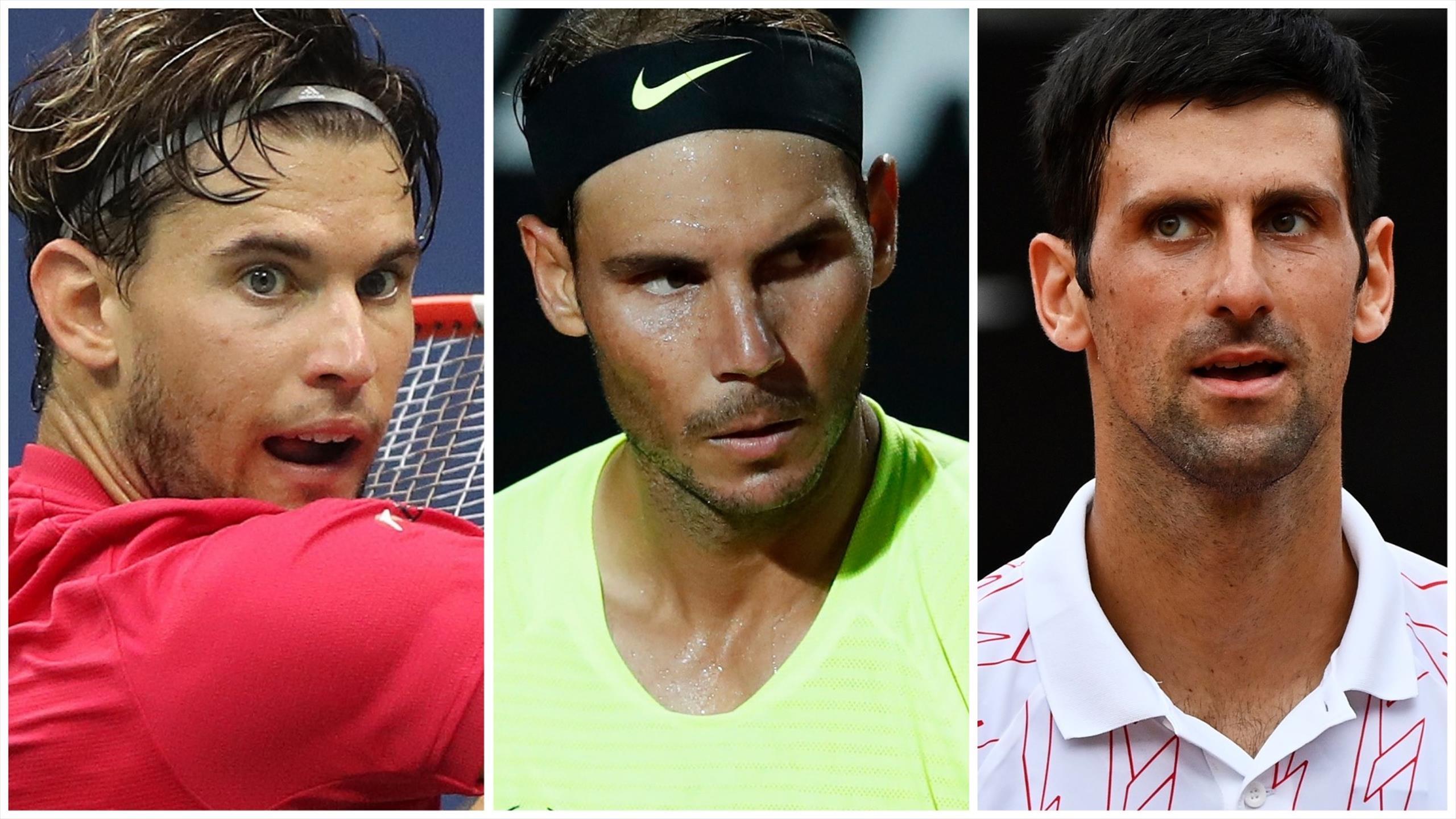 Roland Garros 2020 Rafael Nadal V Novak Djokovic V Dominic Thiem Who Is The French Open Favourite Eurosport