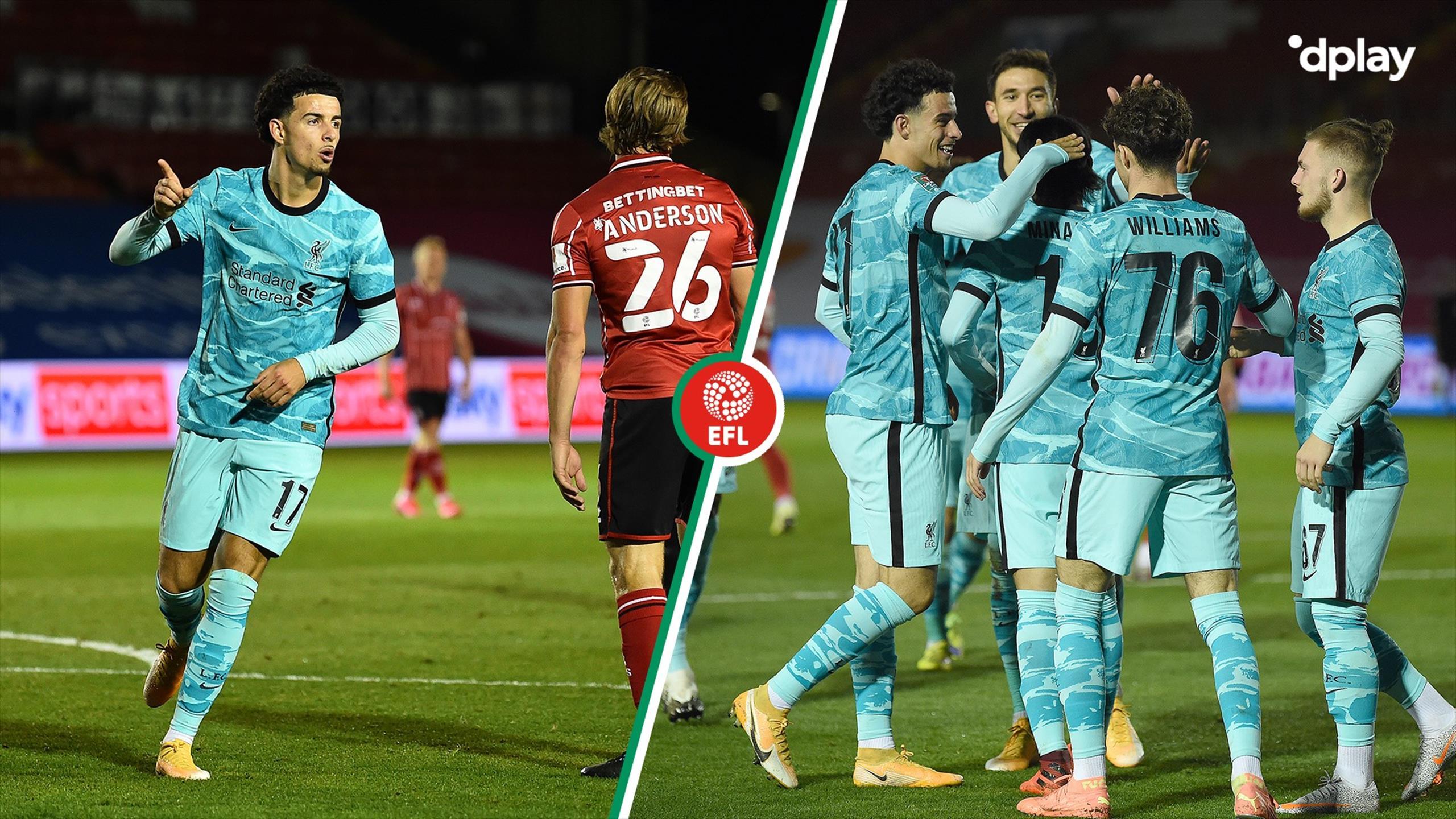 Highlights: Liverpool udraderede Lincoln City i vanvittig nimålskamp