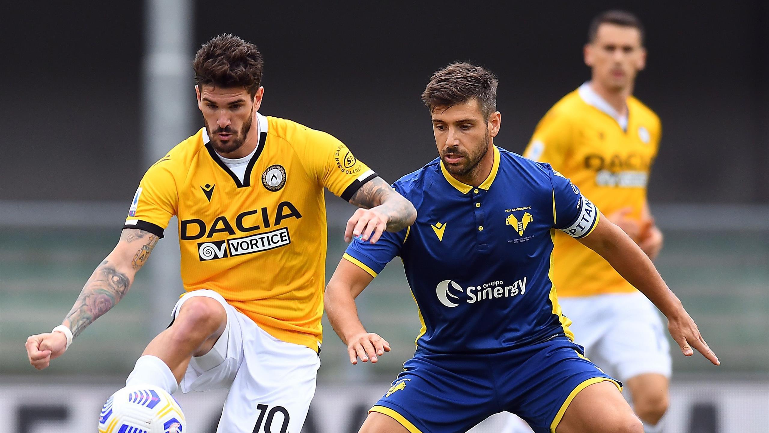Le pagelle di Verona-Udinese 1-0 - Eurosport