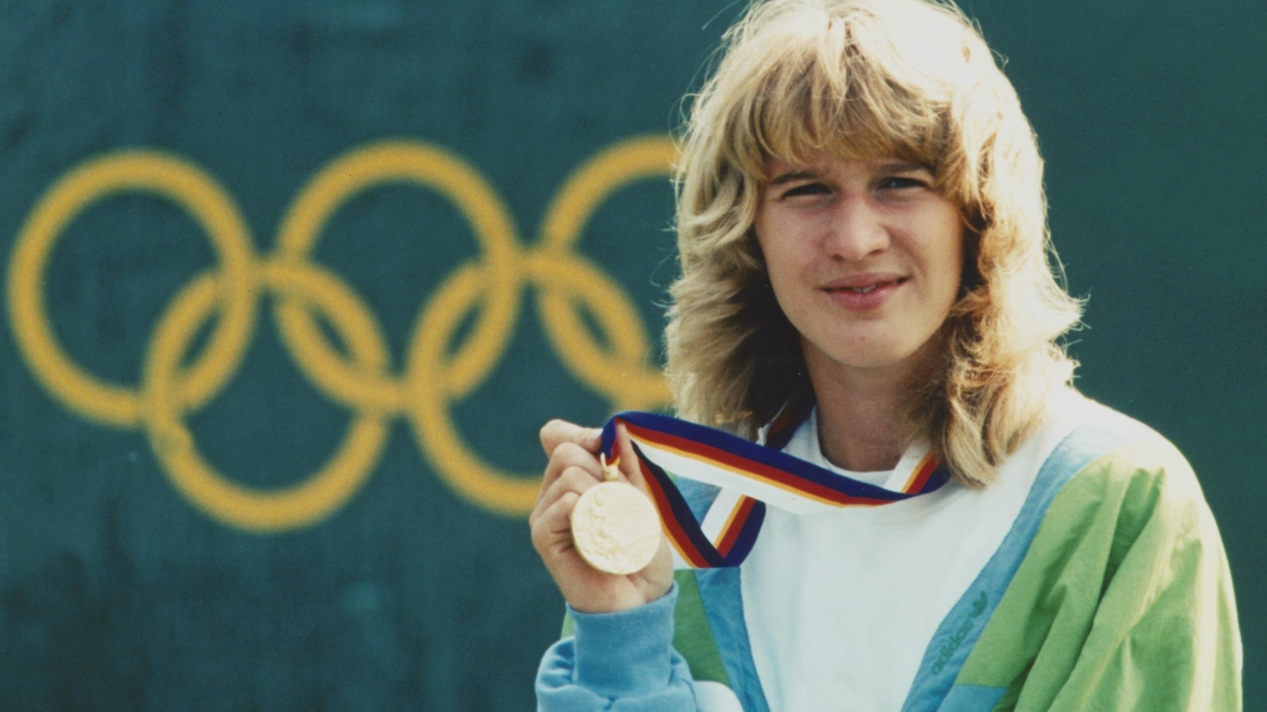 Kein Tag Wie Jeder Andere Steffi Graf Gewinnt Den Golden Slam Eurosport