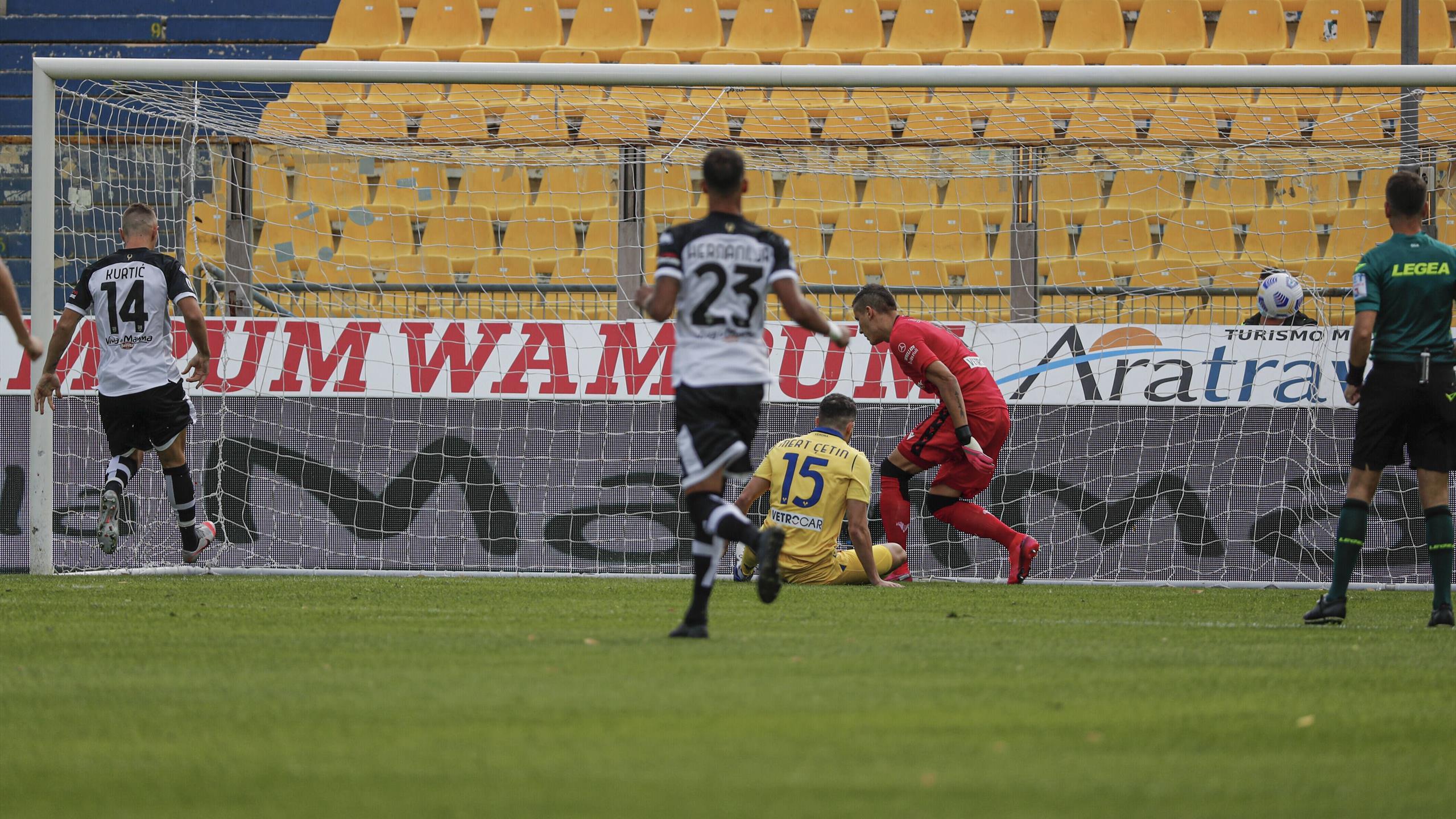 Parma-Verona 1-0, le pagelle - Eurosport