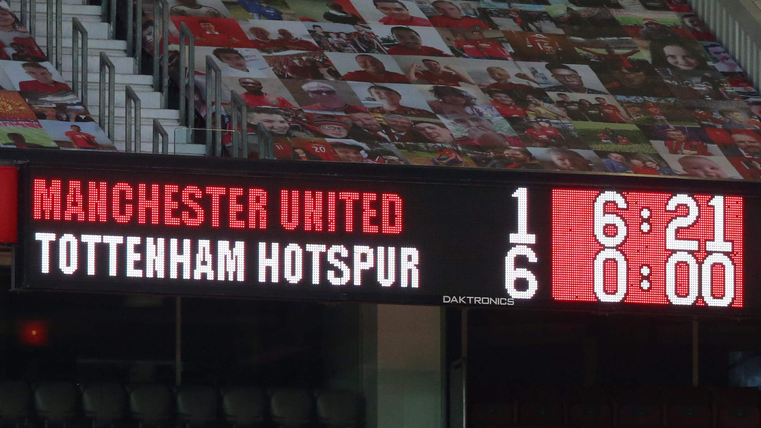 Spurs Hit Desperate 10 Man Manchester United For Six Eurosport