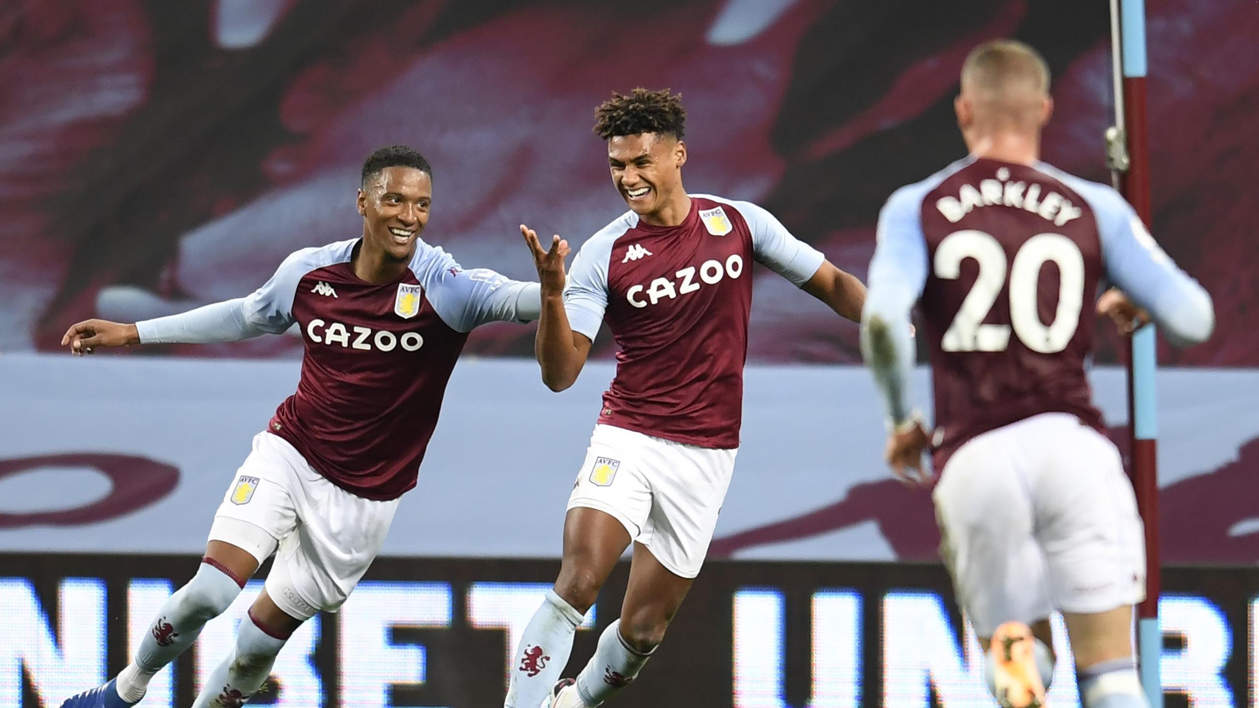 Aston Villa Score Seven To Rout Liverpool In Astonishing Performance Eurosport