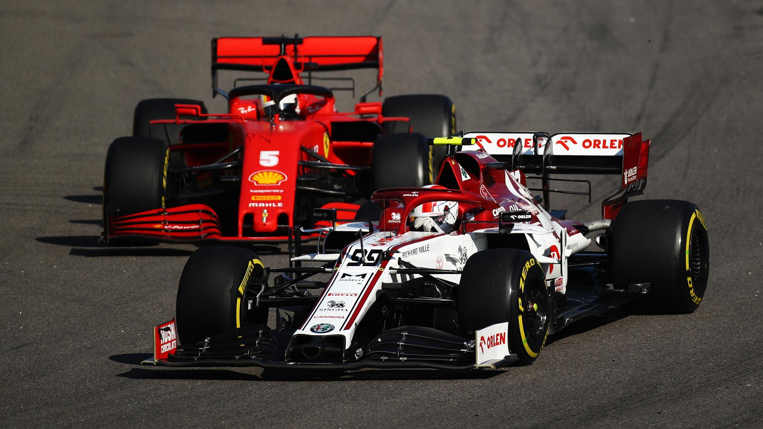 Ferrari n'imposera plus un pilote à Alfa Romeo