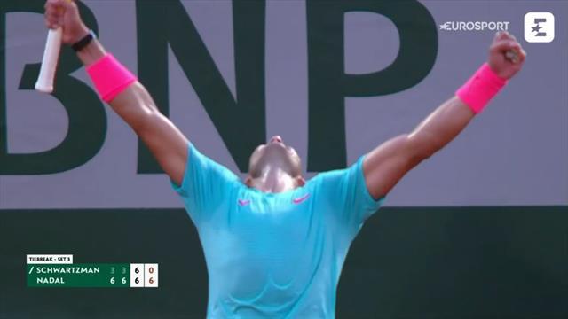 Highlights: Rafael Nadal spiller sig i sin 13. finale ved Roland-Garros