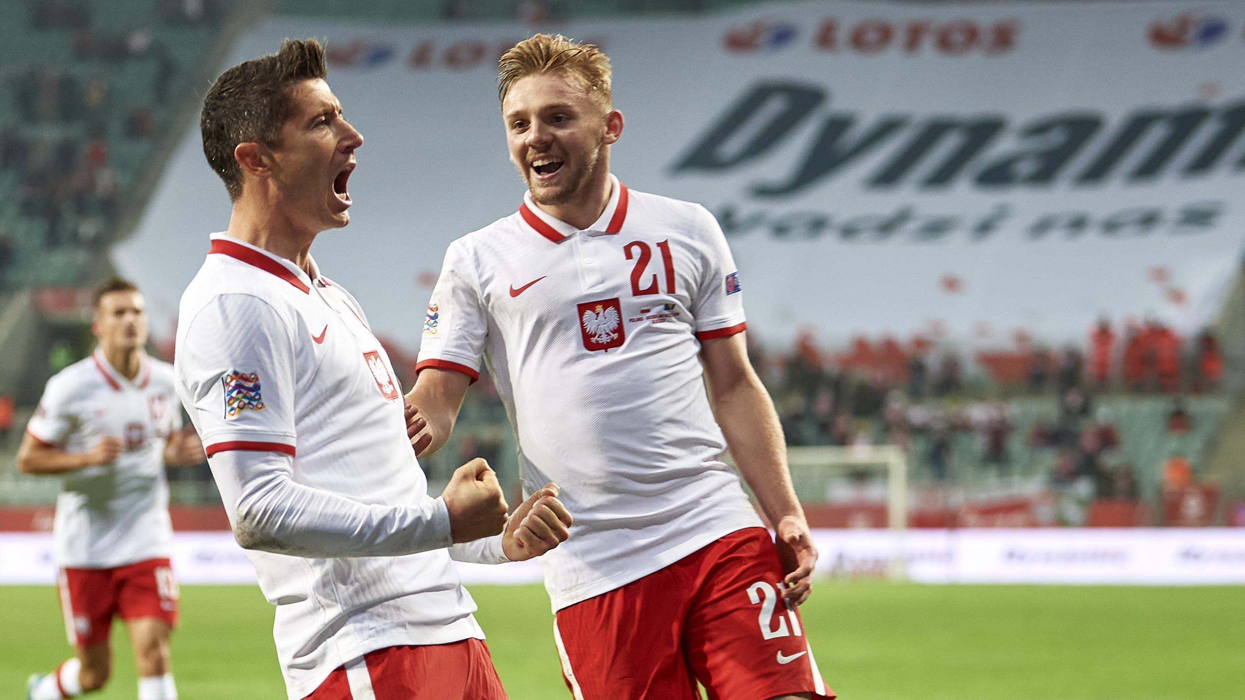 Lewandowski führt Polen zum Erfolg gegen Bosnien-Herzegowina