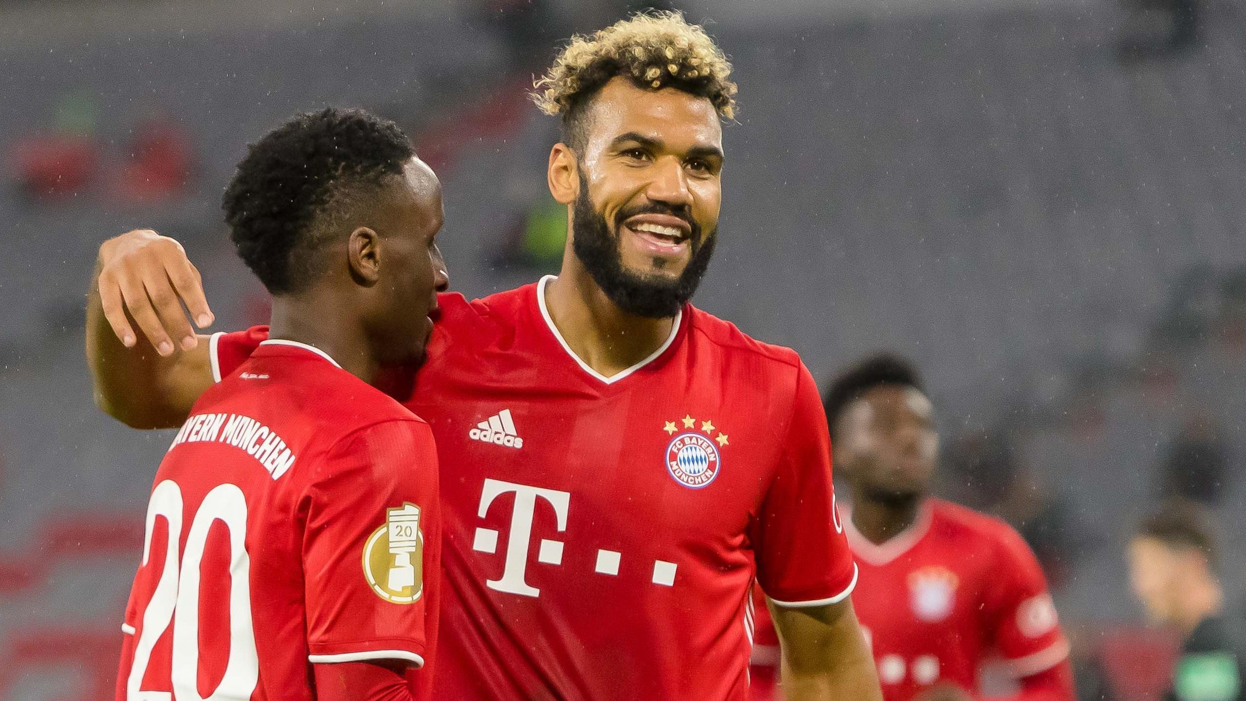 Eric Maxim Choupo-Moting scores twice on Bayern Munich debut in German Cup  win - Eurosport