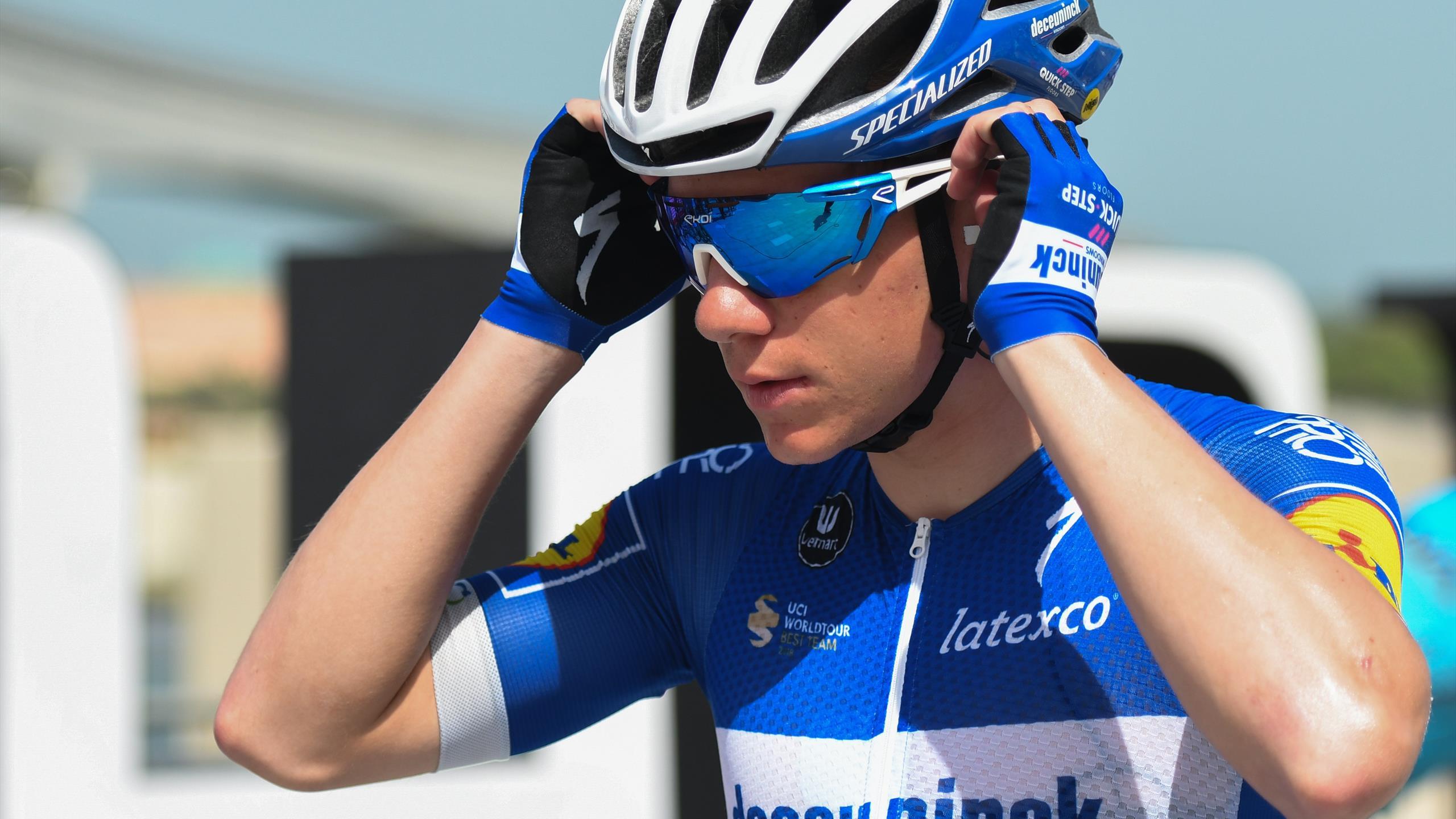 De retour sur la route six mois après son accident, Remco Evenepoel savoure, mais reste prudent - Eurosport FR