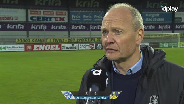 Niels Frederiksen efter første nederlag: På mange punkter var præstationen rigtig fin