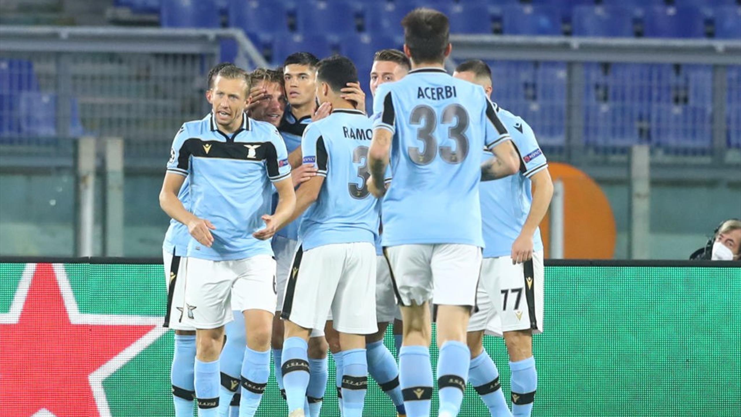 Ligue des champions : La Lazio Rome fait plier le Borussia Dortmund (3-1) - Eurosport