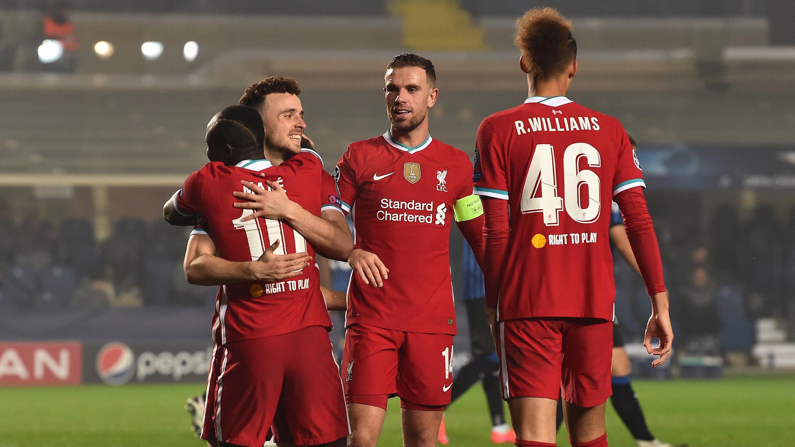 champions league diogo jota scores hat trick as liverpool thrash atalanta eurosport champions league diogo jota scores hat
