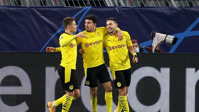 Dortmund accroché par la Lazio mais qualifié