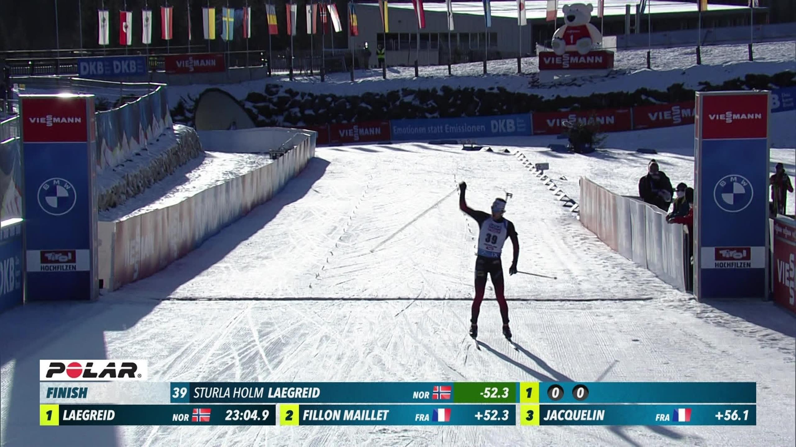 Laegreid Keeps On Impressing In Biathlon World Cup Eurosport