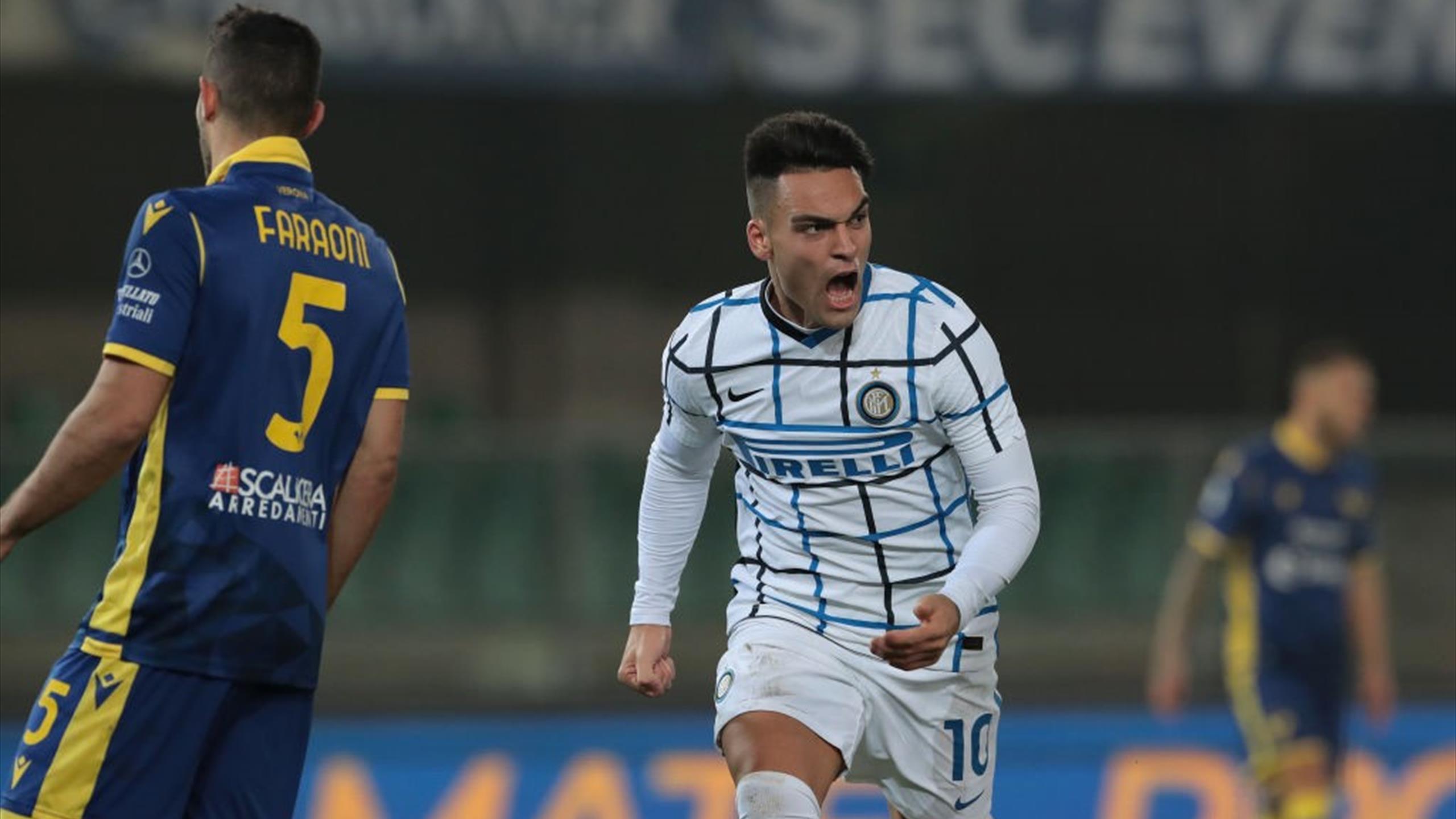 Serie A - Hellas Verona-Inter 1-2, le pagelle: Lautaro ...